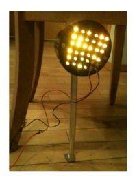 First LED Lamp